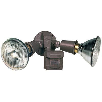 Heathco 2 Light Outdoor Spotlight