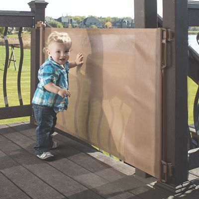 Extra Wide Retractable Deck Gate