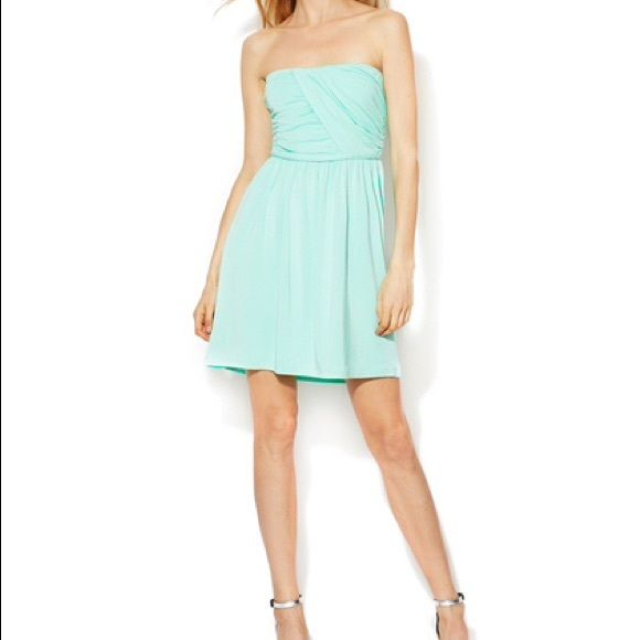 """NWT Tart """"Sea Breeze"""" Dress in Mint This darling NWT """"Sea Breeze"""" dress by Tart is so cute - and it's sold out everywhere!  It kills me to let it go, but I have this dress in 2 other colors and my less fashionably evolved husband is pushing me to downsize my closet!  Tart is one of my most beloved brands; their stylish, versatile, comfy pieces have become staples in my wardrobe.  Oh, and FYI, Tart clothes don't have to be dry cleaned! Tart Dresses"""