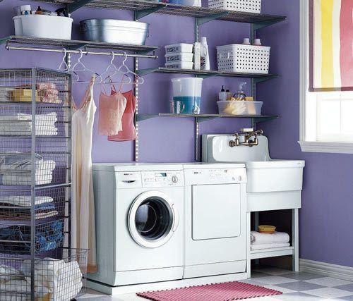 Bra förvaring tvättstuga / klädkammare | A'la Emmeli-Style