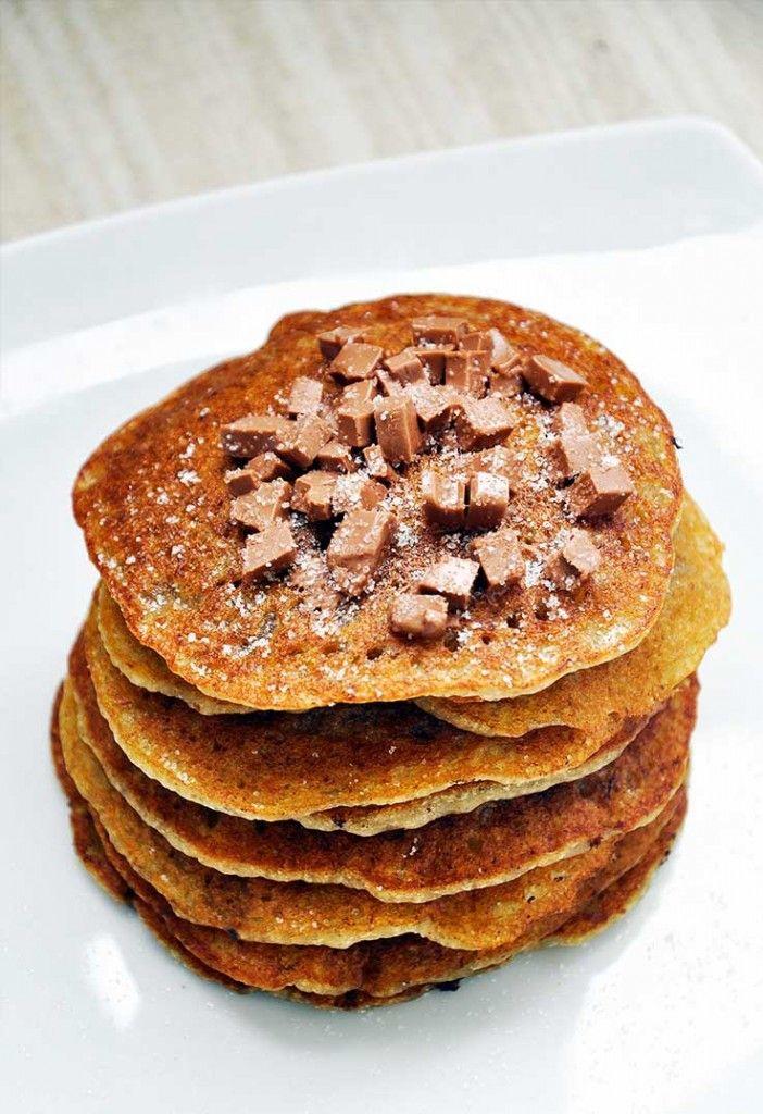 Clatite pufoase vegane si fara gluten   Gourmandelle.com