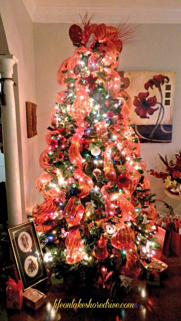 Christmas tree deco mesh christmas pinterest