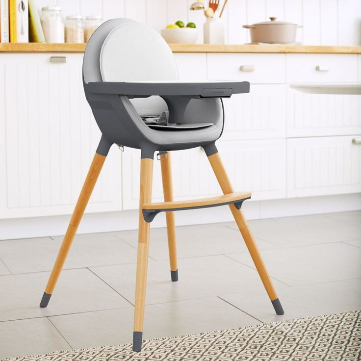 Skip Hop Tuo Convertible High Chair - Charcoal Grey