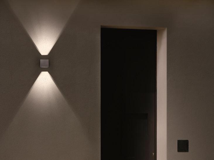 Lampada da parete a LED K³ MINILED Serie K³ Miniled by Goccia Illuminazione