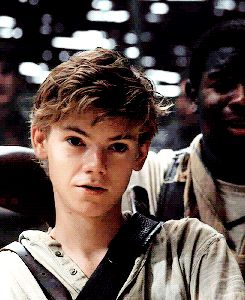 Imagine Newt's smiling because you called Gally an assbutt.
