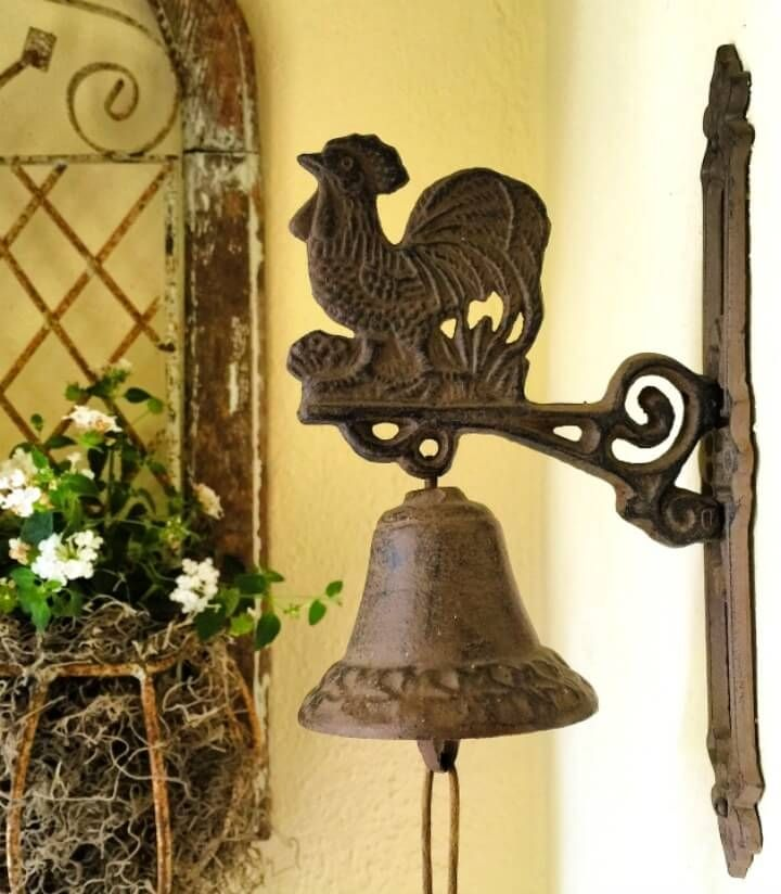 Front door bell - Looking forward & holding back a story of change with beautiful images & fond memories