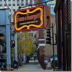 Gene and Georgetti Italian Steakhouse / Chicago!! Gotta take Ashley here!