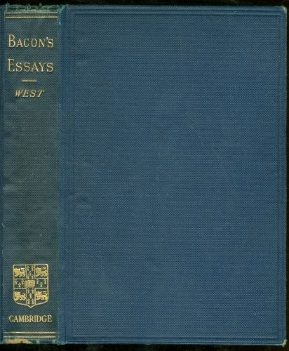 essay of anger by bacon Listen to audiobooks at litphonix essays of francis bacon by francis bacon previous: of judicature of anger to seek to extinguish anger utterly, is but a bravery of the stoics.