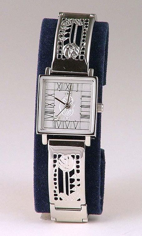 Silver watch by Charles Rennie Mackintosh, The Glasgow School I got this as a gift from my hubby for our first Christmas together.