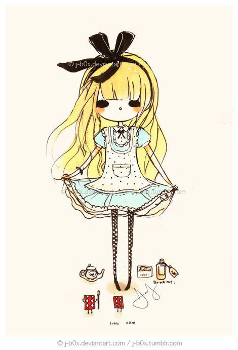 Little Alice by j-b0x.deviantart.com on @deviantART