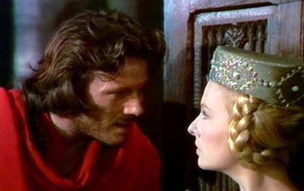 Кадр из фильма «Проклятые короли» 1972 Мужская и женская Средневековые прически