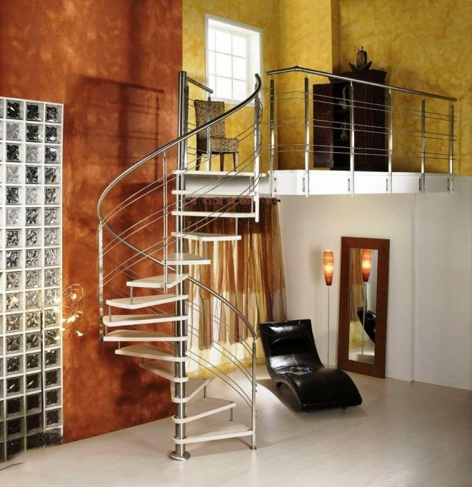 Spiral Staircase Dimensions Steel