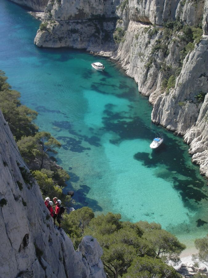 Calanques, or creeks, of Marseille.
