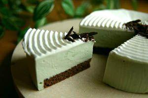 チョコミントムースケーキのレシピ 簡単なミントムースの作り方とコツ