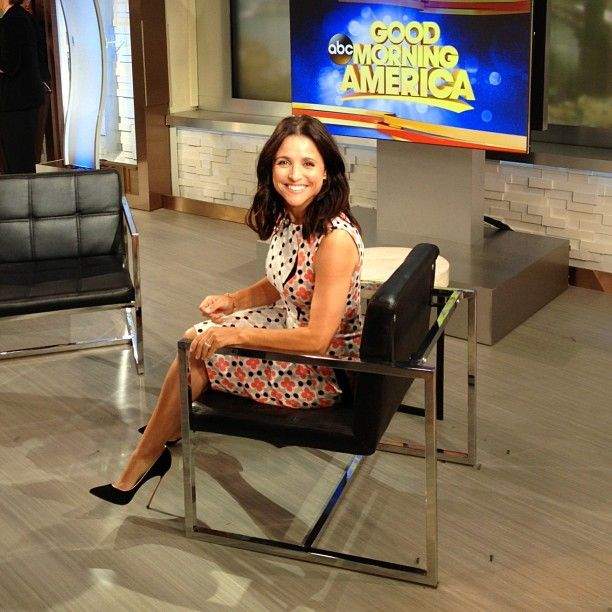 | INSTAGRAM | Did you catch #EnoughSaidMovie's Julia Louis-Dreyfus on Good Morning America this morning? WHO looks this good at 8am??