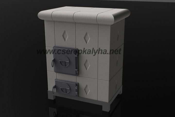 Hordozható cserépkályha, transportable Kachelöfen