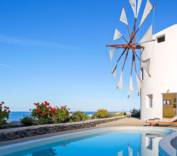 HIP GREECE | HOTELS | SANTORINI | WINDMILL VILLAS