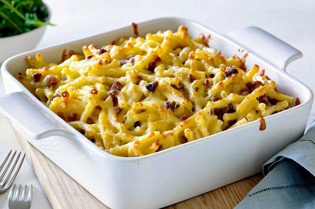 For an alternative to your traditional mac 'n' cheese, try this quick and easy…