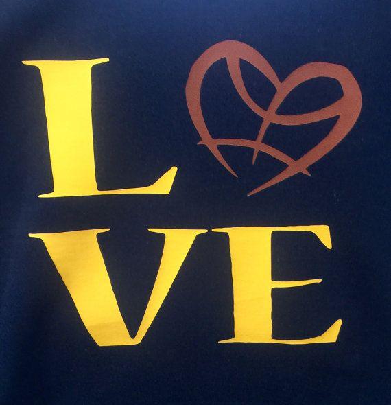 love basketball shirt customized basketball shirt by Jkdezign