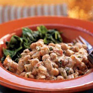 chickpea curry: Myrecipes Com, Curries Recipes, Yogurt Sauce, Cooking Lights, Yogurt Recipes, Indian Food, Chickpea Curry, Chickpeas Curries, Indian Dishes