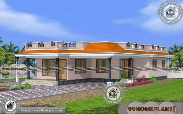 Single House Floor Design One Level Home Plans With 1800 Sq Ft Ideas House Floor Design Modern Bungalow House House Plans
