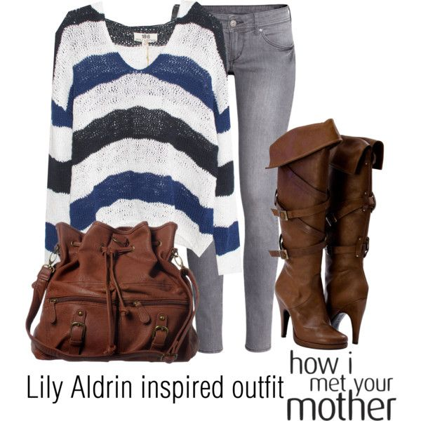 Lily Aldrin inspired outfit/HIMYM by tvdsarahmichele on Polyvore featuring Nili Lotan, H&M and ANS