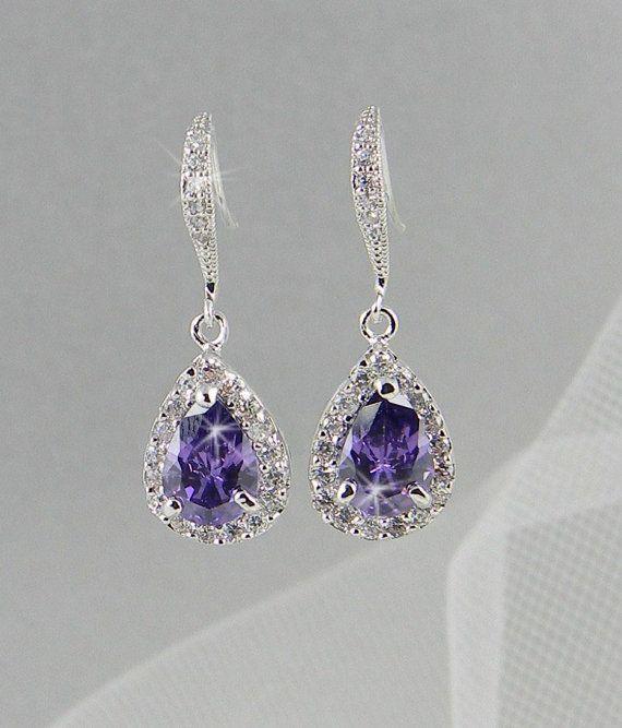 Best 25+ Purple wedding jewelry ideas on Pinterest ...