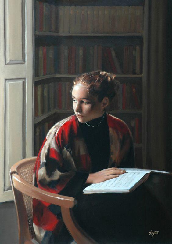 """Шелли Тэйер Лейтон, """"Окно в библиотеку"""""""