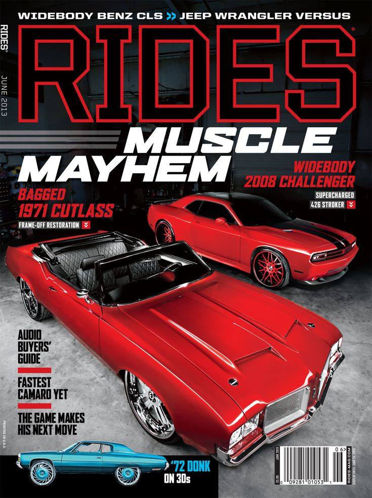 We made the cover June 2013, 71 Cutlass