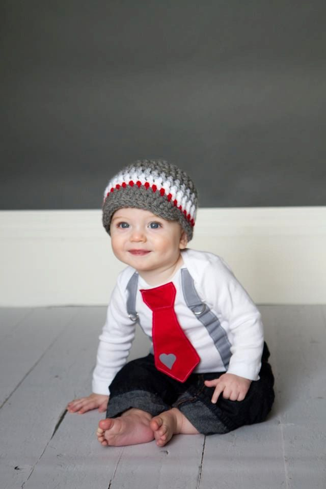 Valentines day boys grey and red tie onesie or shirt with suspenders 19 00 via