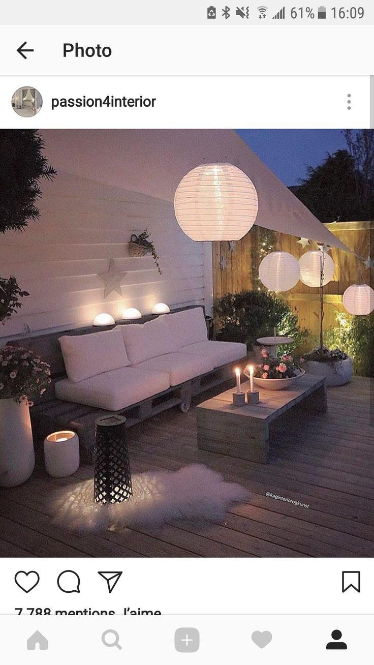 21 besten terrasse Bilder auf Pinterest   Diy garten, Balkon und ...