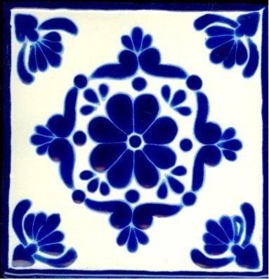 Like this talavera tile pattern