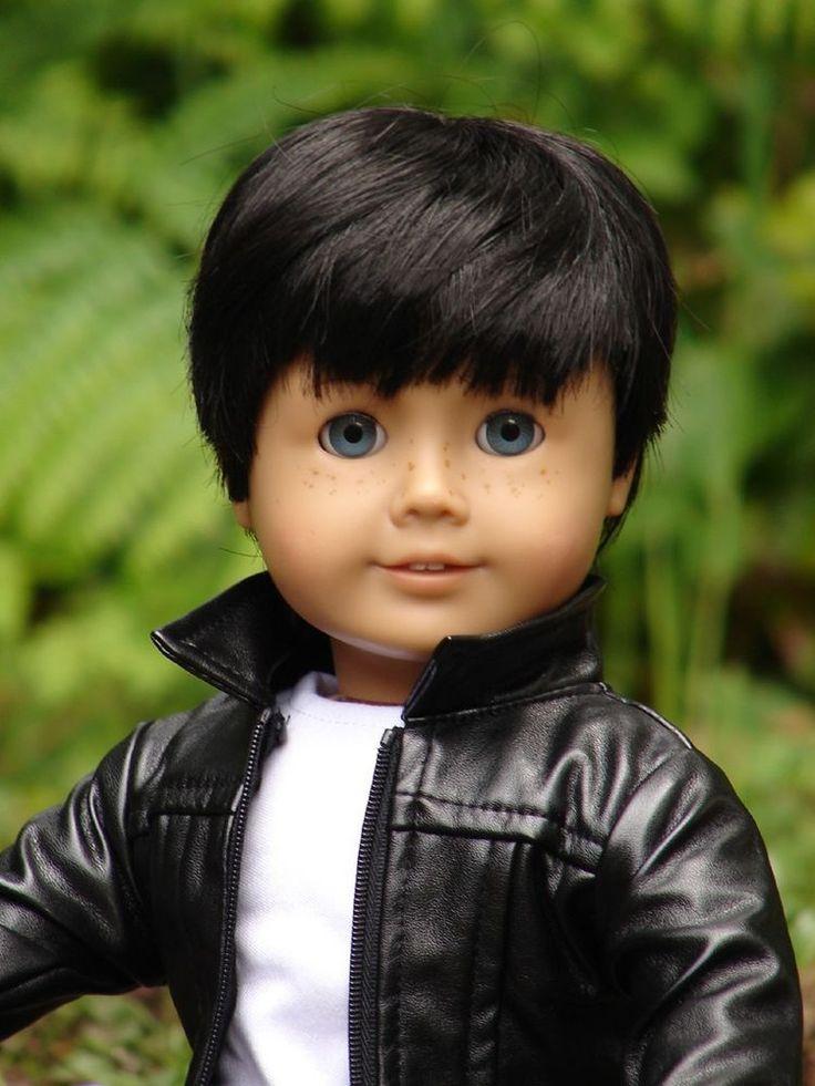 "Ha Ha !!!! These boys look great! American Boy Doll Customized Pleasant Co 18"" Jack"