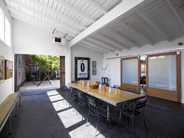 Stable Building - industrial - dining room - san francisco - Malcolm Davis Architecture