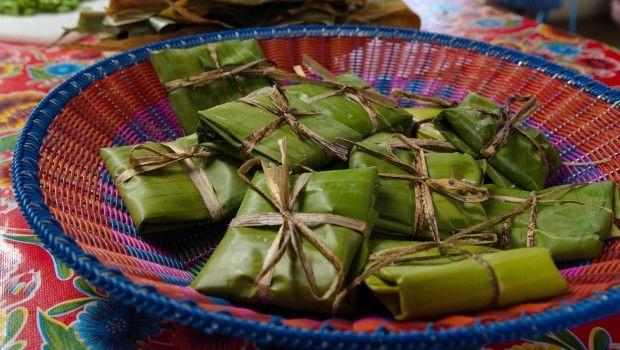 #Receta Tamales oaxaqueños de mole. #MBCooking Enjoy!