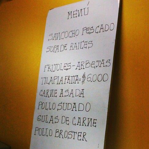 Bien pueda escoja #menudeldia