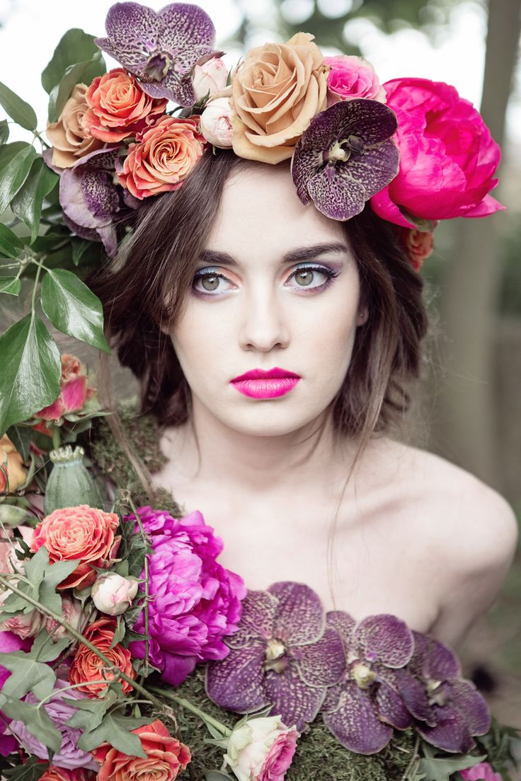 5122 best flowers in your hair images on pinterest crowns flowers floral fashion hair flowers flower girls beautiful flowers flower power exotic makeup fuchsia body adornment headpieces izmirmasajfo