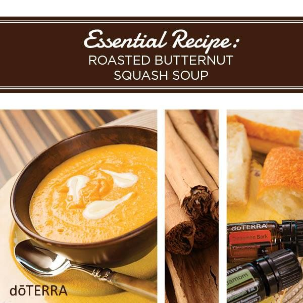 178 best doterra essential oils food recipes images on pinterest enjoy fall flavors with this delicious roasted butternut squash soup made by doterras own chef greg forumfinder Images
