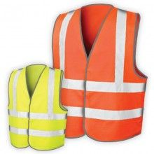 Hi Visibility Vest Plain - no print