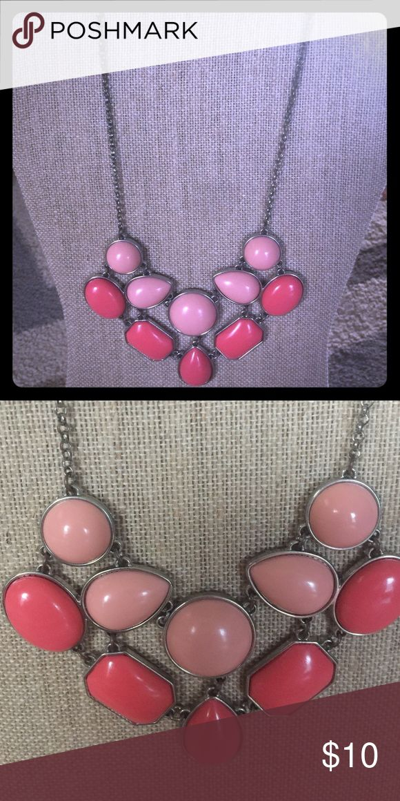 Beautiful Coral Statement Necklace Beautiful Costume Coral  Necklace Jewelry Necklaces