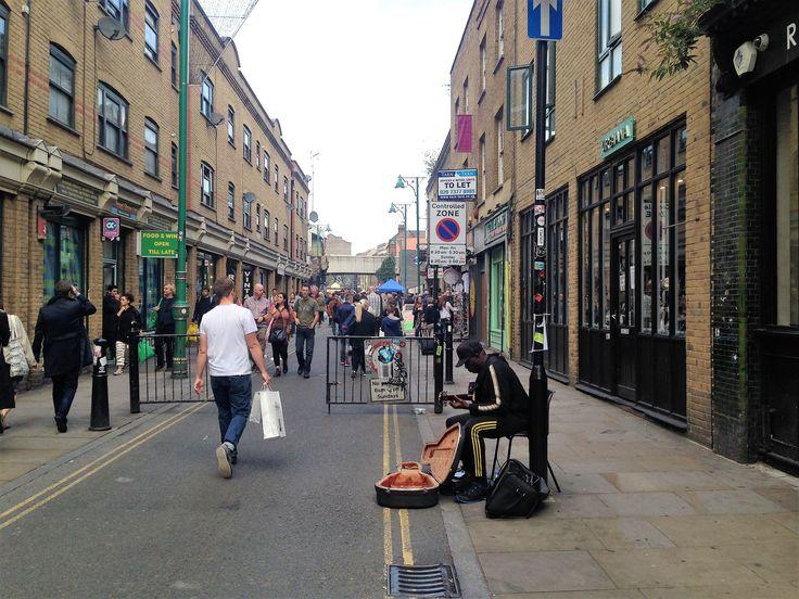 Brick Lane market, London