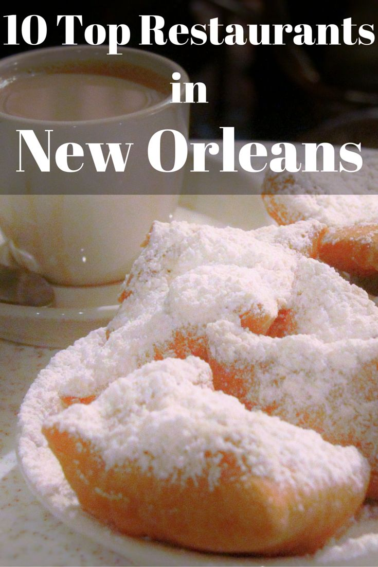 An important part of travel to New Orleans is the food.  New Orleans has some of the best food in the entire United States.  New Orleans...