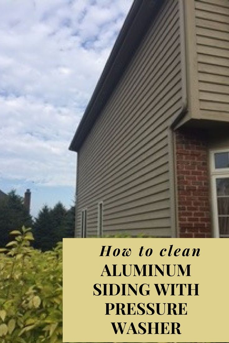 Video Tells You What Product To Use To Get Off Oxida How To Clean Aluminum Painting Aluminum Siding Exterior Siding