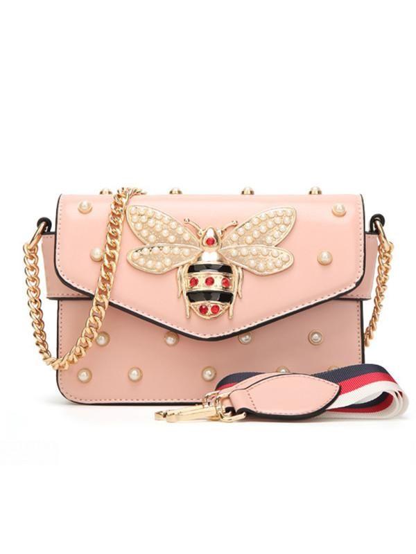 Pearl Beading Bee Bag