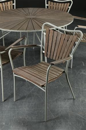 Vare: 3726948Mandalay. Havemøbler af teak, bord samt stole (7)