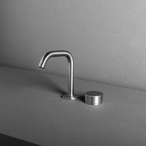 Washbasin mixer tap / built-in / stainless steel / for bathrooms OX: WB02/WB03 MAKRO