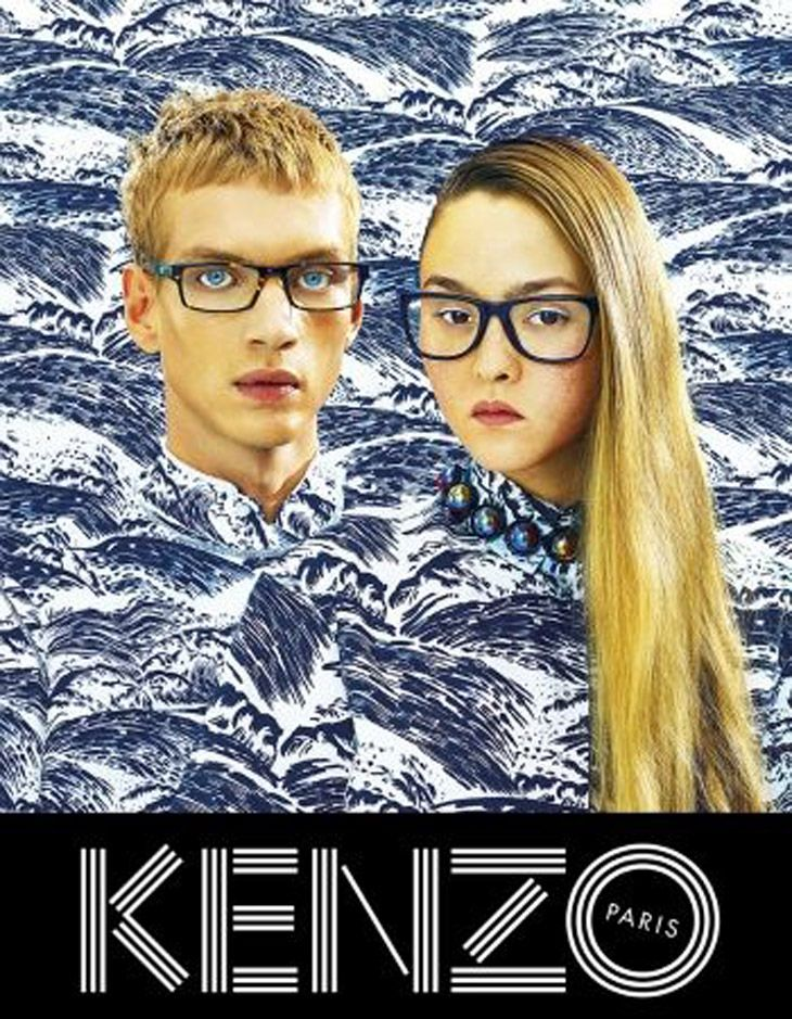 Kenzo Spring Summer 2014 by Pierpaolo Ferrari