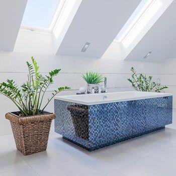 Artykuł: Rośliny w łazience - gdy nie wiesz jak ożywić wnętrze minimalistycznej i chłodnej toalety. #porady #wystrój #ŁazienkaNaPlus
