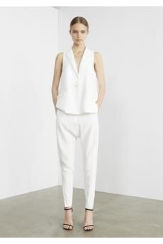The Caviar Vest and Arion Trousers from CAMILLA AND MARC's Ready-To-Wear Resort 2015 collection.