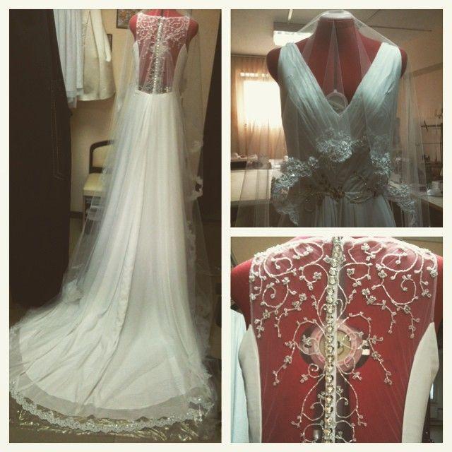 Не люблю я ждать и догонять.. Но так у меня часто, что все в последний момент. Эхуд тайм менеджмент, жди меня. #индивидуальный  #пошив  #одежды  #ателье  #ХрабраяПортняжка  #Краснодар  #свадебное  #платье  #свадьба